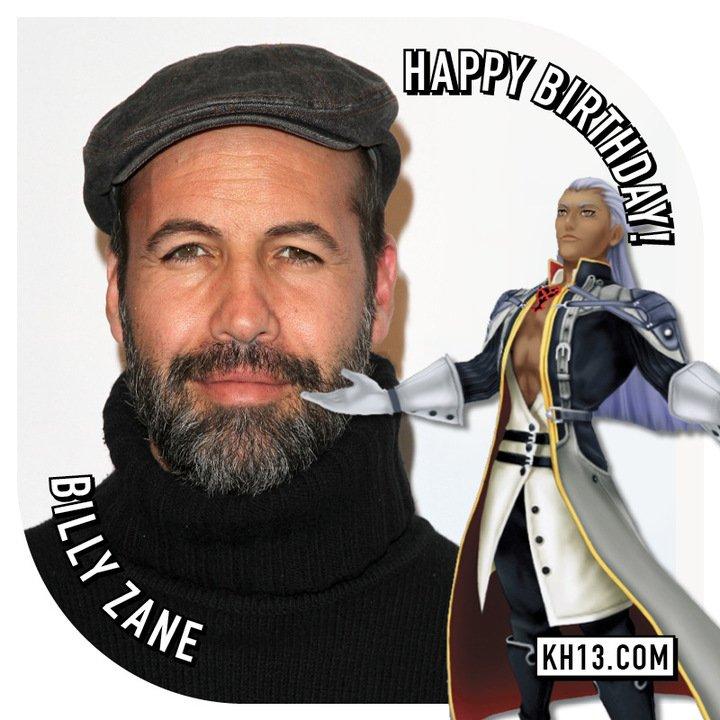 Happy 51st Birthday to Billy Zane (voice of Ansem in KH1)
