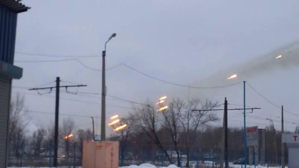 """Боевики за прошедшие сутки выпустили по Авдеевке около ста снарядов из """"Града"""", - Матюхин - Цензор.НЕТ 9201"""