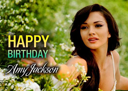 Hpy Bday Amy Jackson  Happy Returns Of The Day