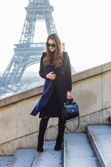 Styling Navy and Black