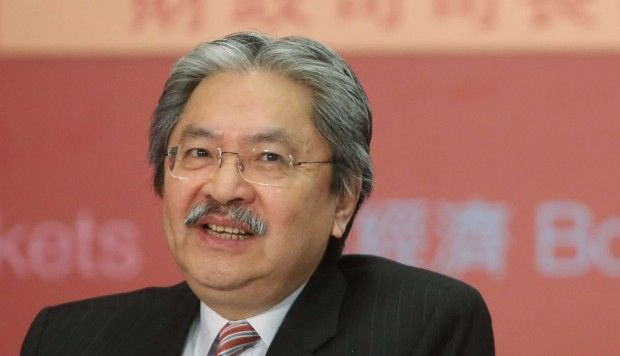 Hong Kong chief executive hopeful John Tsang leads social media race
