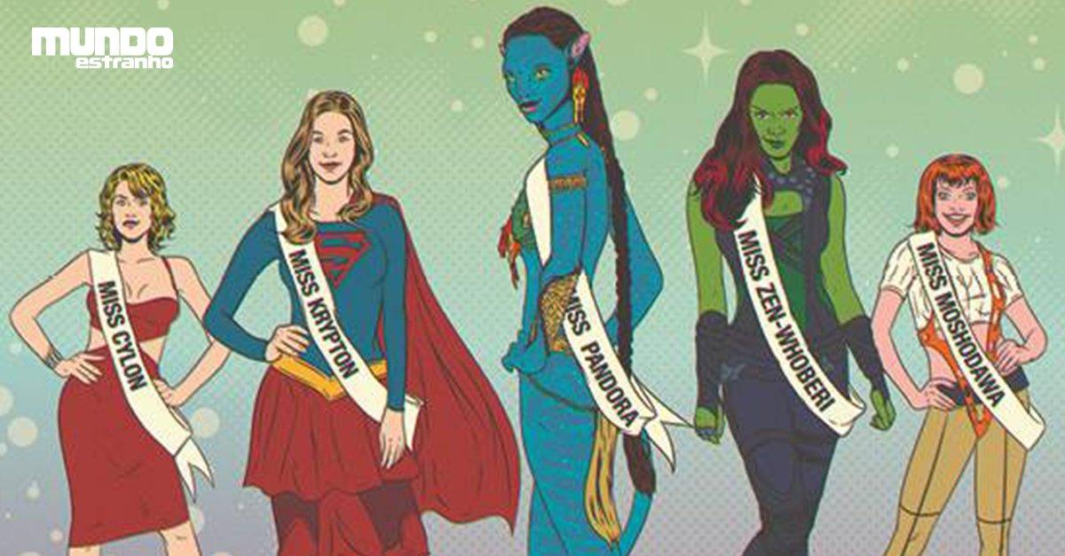 Por que o Miss Universo tem esse nome se só tem mulher da Terra? https://t.co/V7EfRCETEE