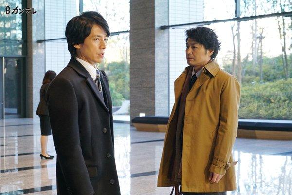 今夜9時からドラマ『嘘の戦争』第4話🔥🔥🔥 隆(藤木直人)と晃(安田顕)の二科兄弟です💥 ふたりの対…