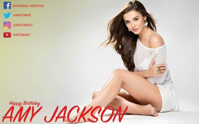 Happy Birthday to the stunning AMY JACKSON -