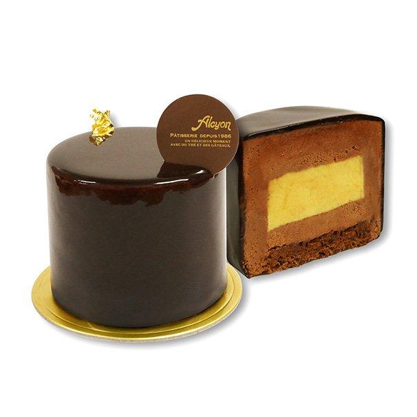 大阪パティスリー「アルション」のバレンタインスイーツ - 中からチョコがとろけ出すフォンダンショコラ…