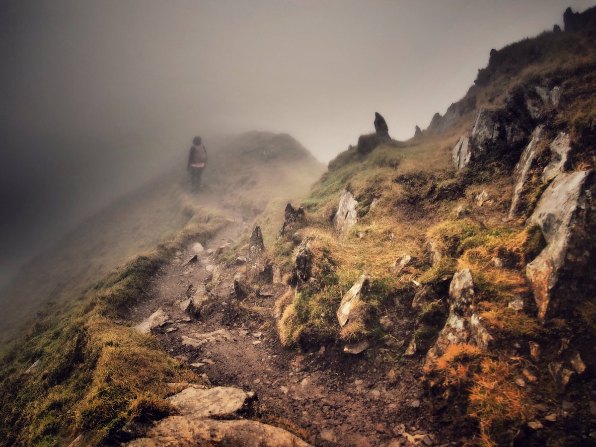 First up on the #WexMondays shortlist, @melcgarside takes a walk into the mists of Snowdon https://t.co/aCfUGUid8v