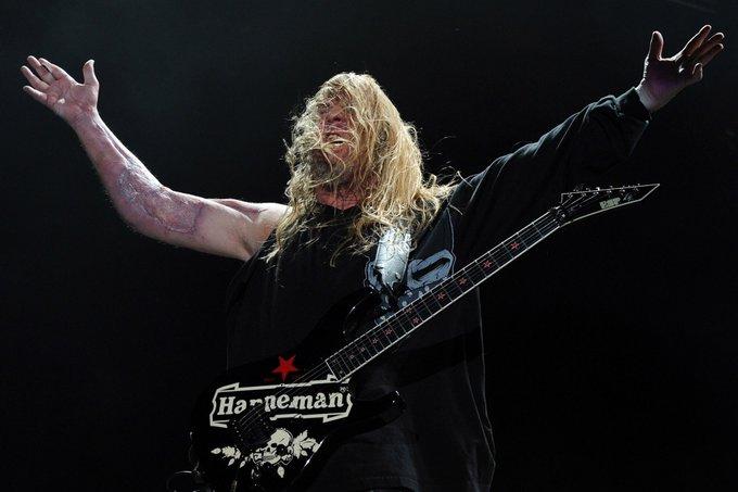 Happy birthday to the late Jeff Hanneman of Slayer!