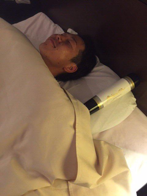 ワクワク。「明日からキャンプ。楽しみです」と鈴木選手。皆様、おやすみなさい。明日も宜しくお願いします…