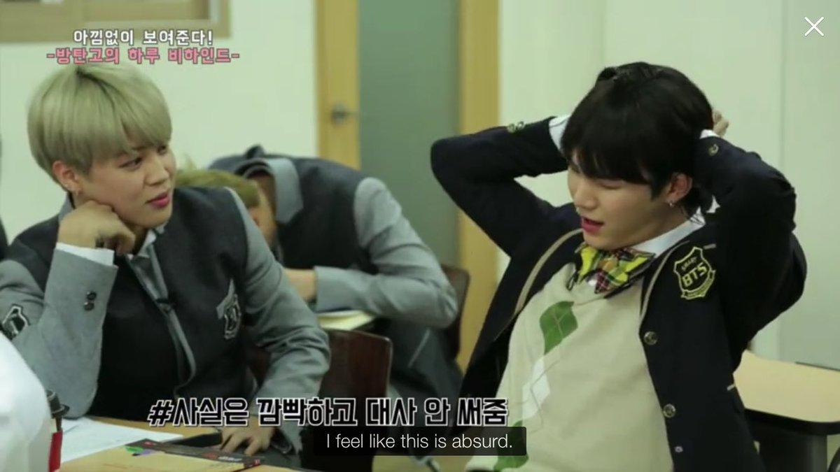 jimin: i\'ll try to seduce yoongi also jimin: