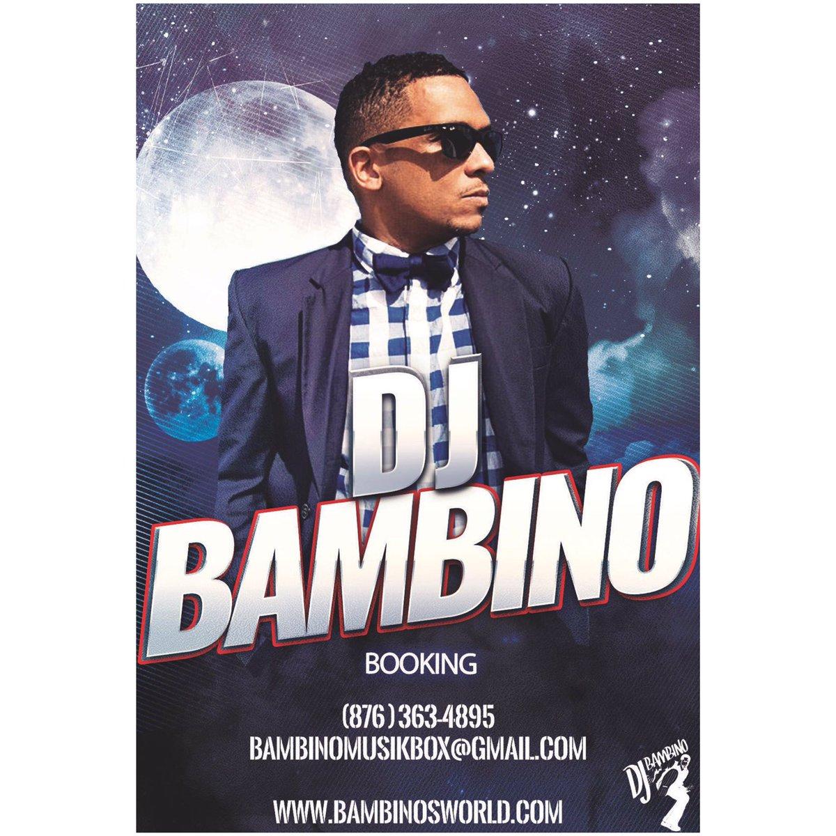 Dj Bambino On Twitter Booking Info