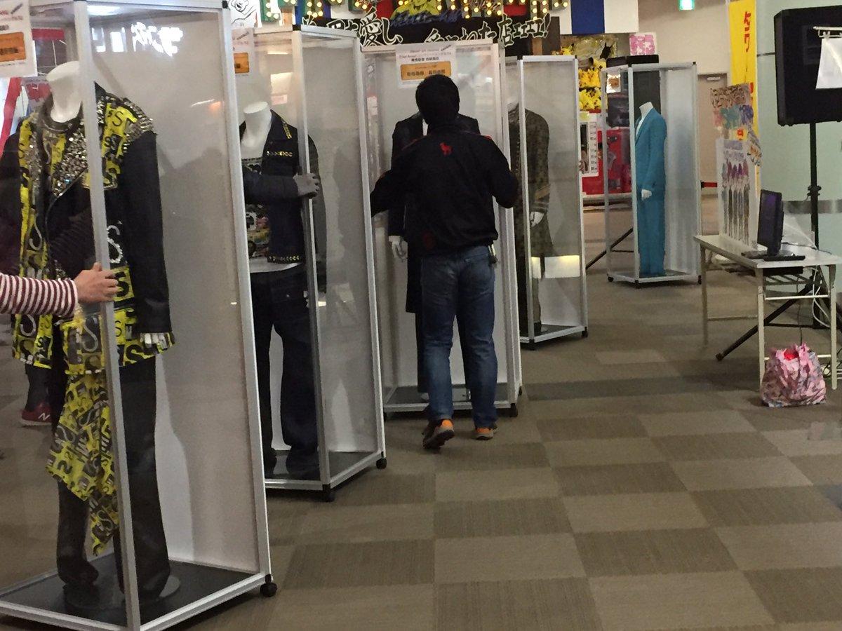 衣装展、終わっちゃった…閉店までいたらスマ担店員さんが涙ながらにご挨拶されてもらい泣き。゚(゚´ω`…