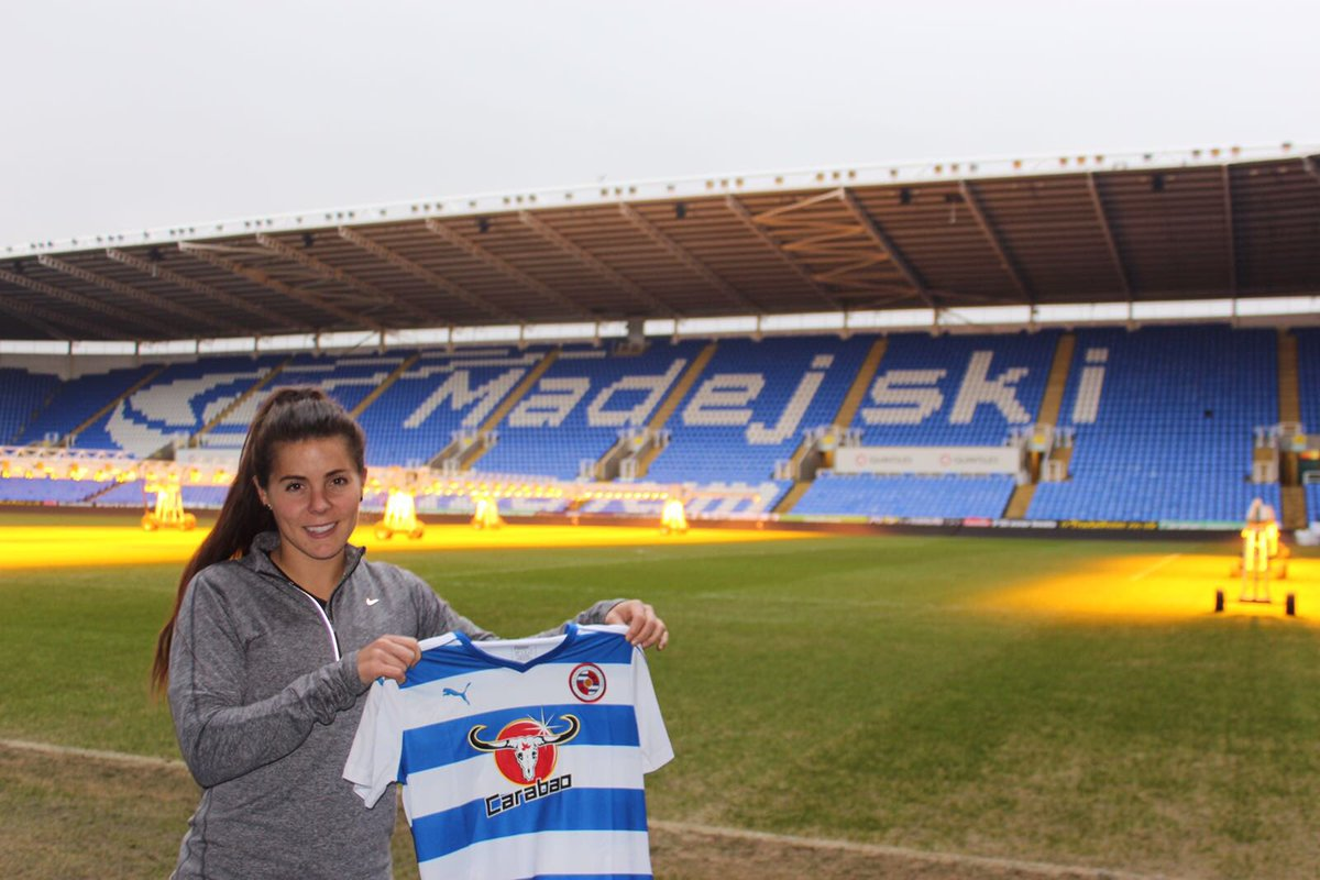 Excited to announce I've signed for @ReadingFCWomen ! https://t.co/4ClfCixabW