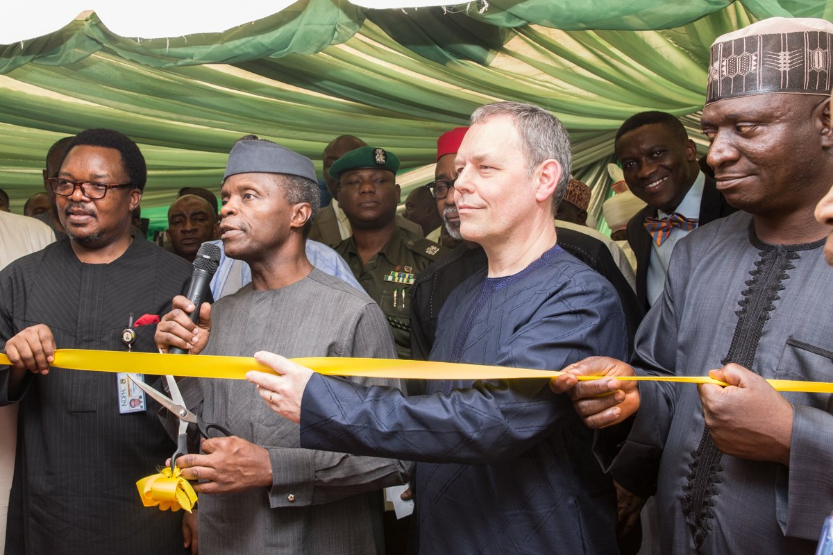 Osinbajo Launches Solar Home System Program (Photos)