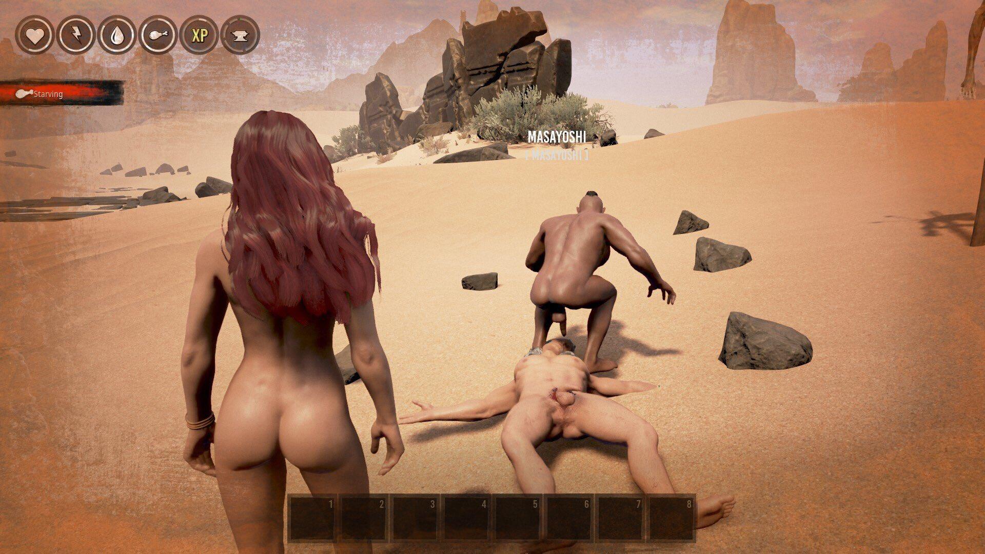 Conan Game Nude