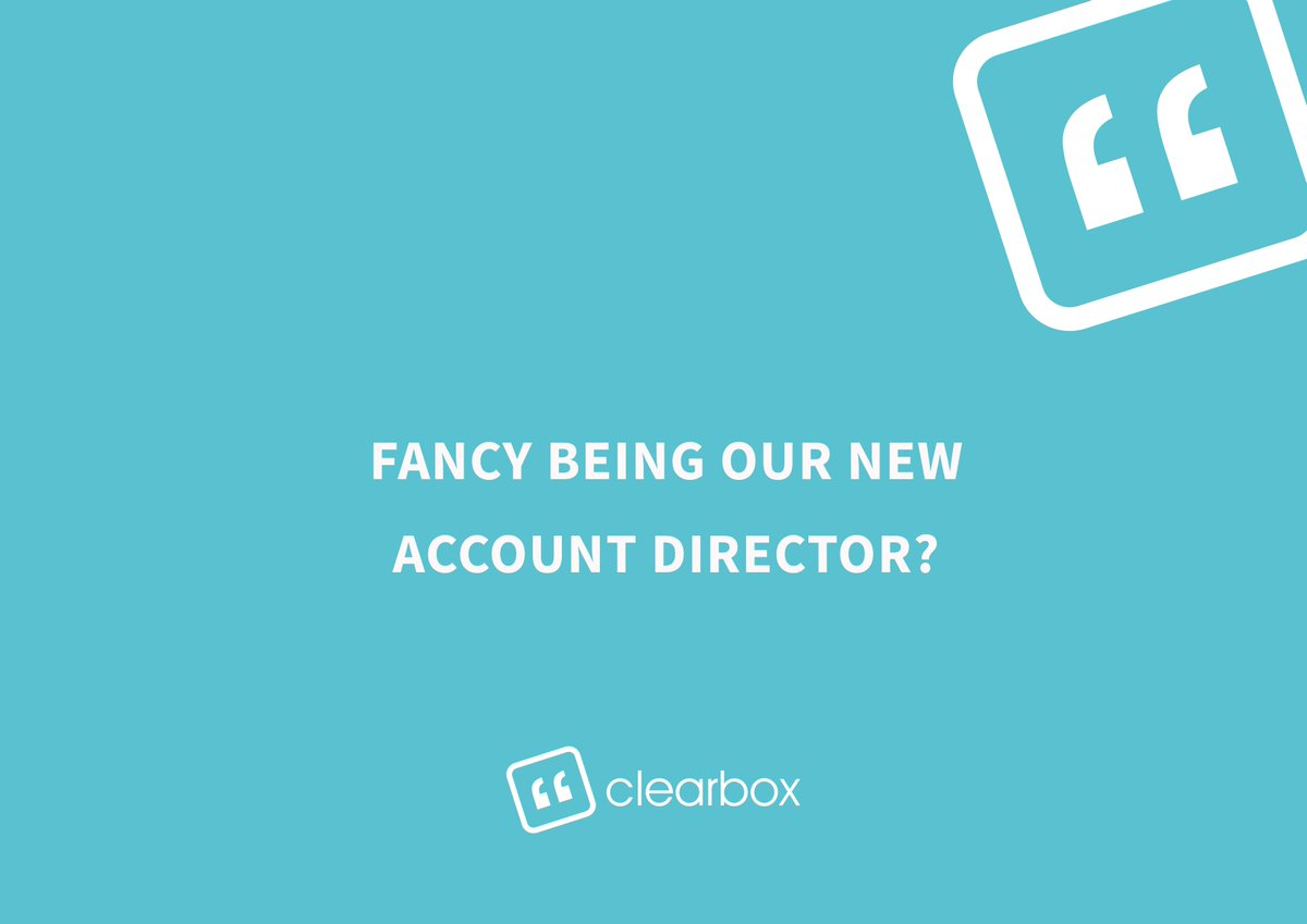 karen friel frielkaren twitter new job alert we re looking for an account director it s a brand new massively exciting role