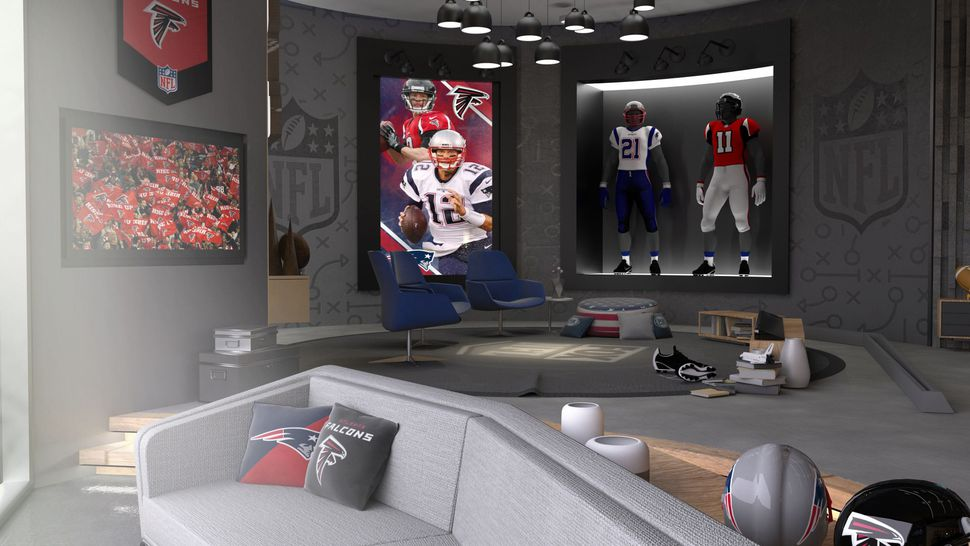VR's clutch play: Showing Super Bowl highlights in real time
