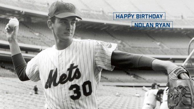 Happy Birthday Nolan Ryan!