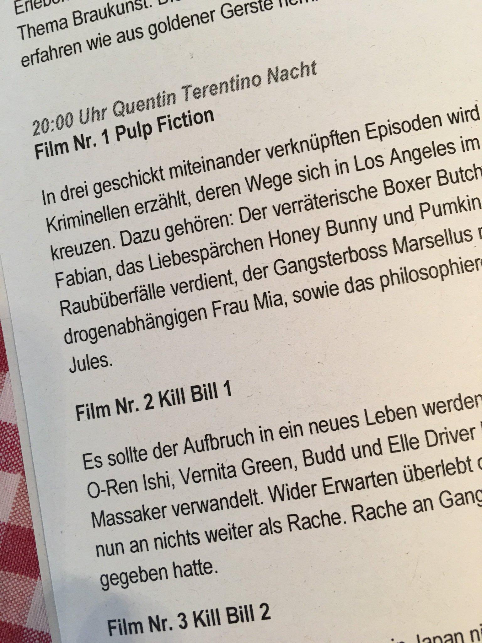 Heute ist Quentin Tarantino Nacht im Winterdorf #schmilka #saechsischeschweiz #meurers https://t.co/XrTJI0A44R