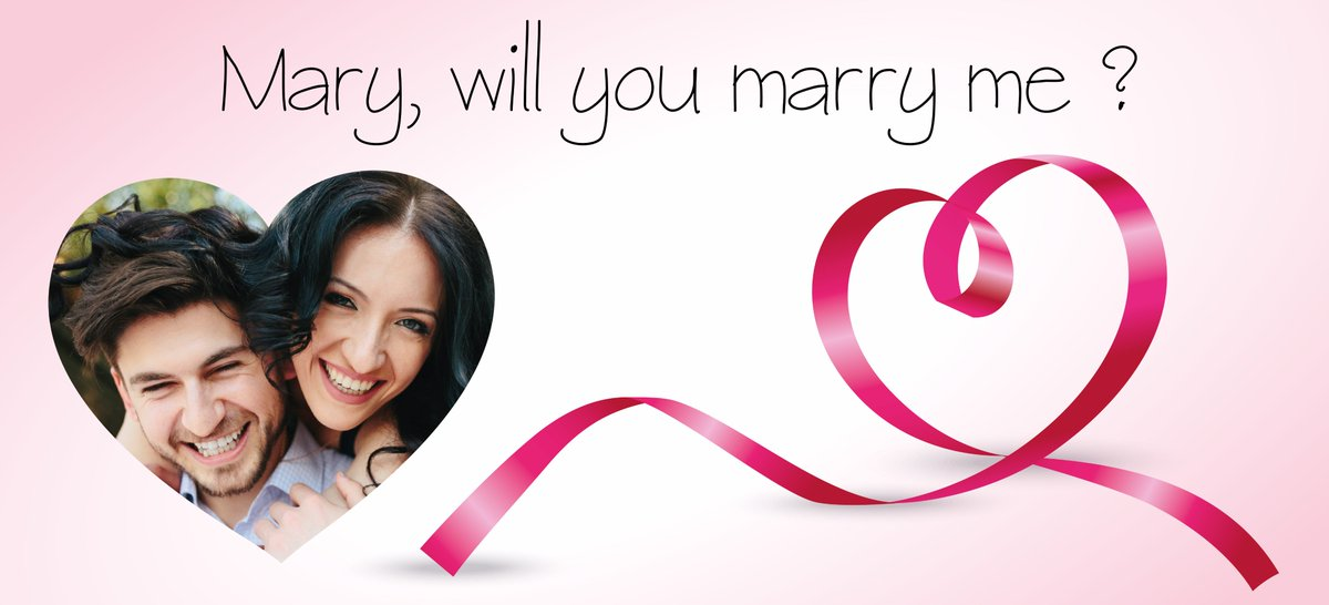 Banderole on - Demande en mariage originale par une femme ...