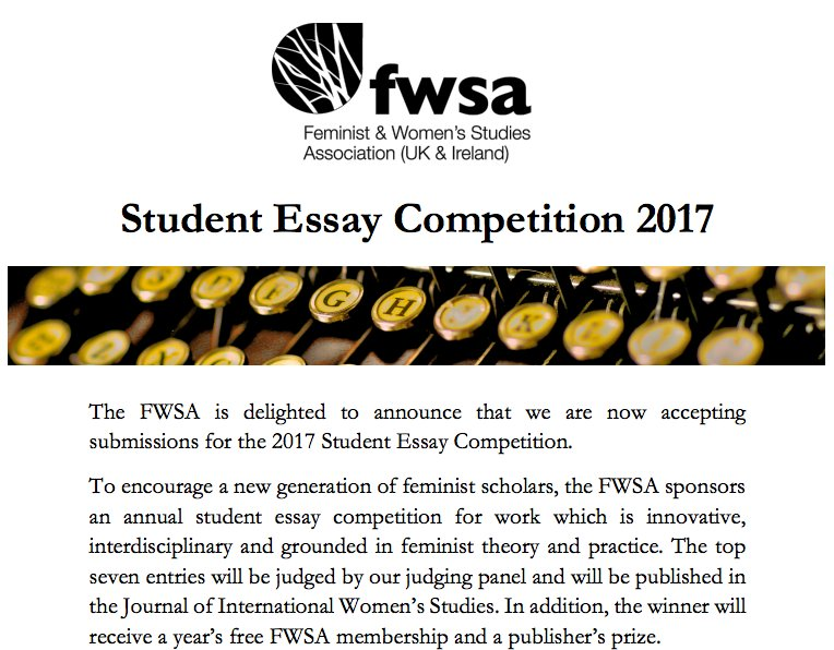 fwsa essay competition