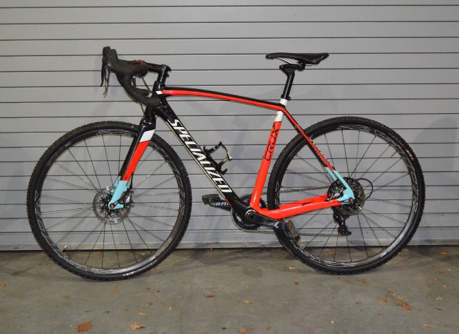 Is this black & orange Specialized Crux bicycle yours? If so, we'd love to return it to you! This bike and many more at @GetYourBikeBack