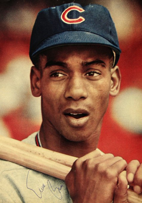 Happy Birthday to our forever Mr. Cub, Ernie Banks!