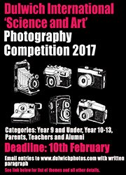Dulwich College International 'Science and Art' Photography Competition 2017 for pupils, parents, teachers & alumni. Intranet for details. https://t.co/AigPBdTwJV