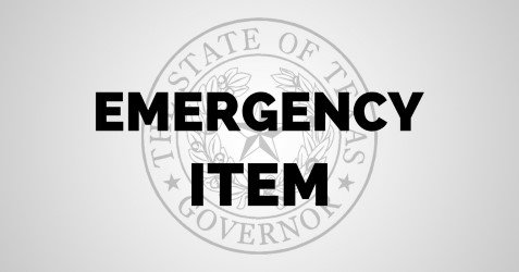 I'm declaring banning sanctuary cities in #Texas an emergency item. #TXSotS https://t.co/LYh3oAQeQb