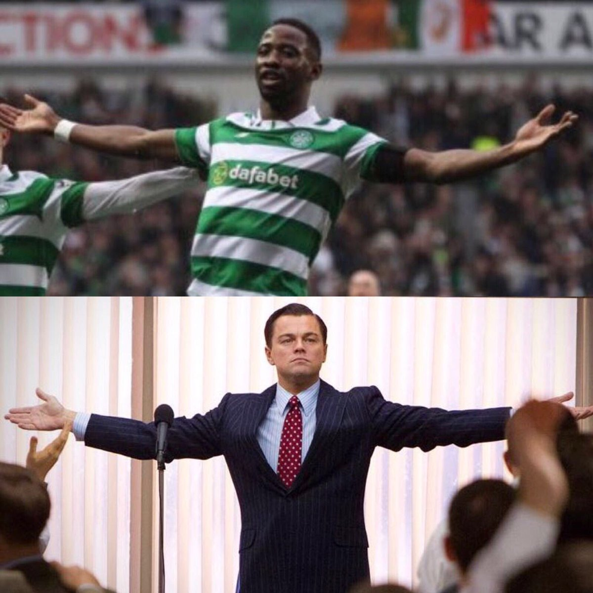 "Moussa Dembélé on Twitter ""What else 💚💚🍀🍀🍀🤐"