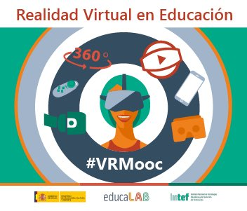 Comienza una nueva aventura pedagógica con un reto importante, demostrar que la RV no solo es para jugar; también es para aprender #VRMooc https://t.co/i6KszI9Fxc