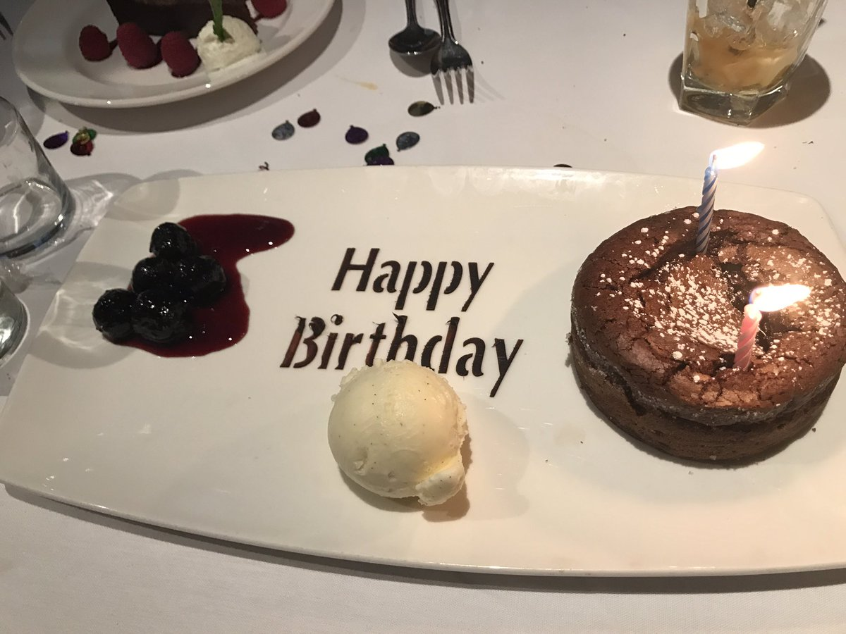 The Capital Grille Birthday Cake