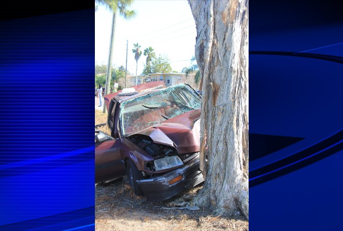Two seriously injured in Clearwater crash; road blocked