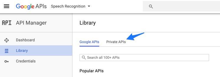 Creating an API Key for Google Speech Recognition – Nerd Vittles