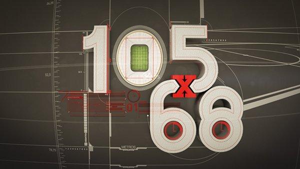 O #105x68 está quase a começar.  Comenta em direto com a hashtag do programa.