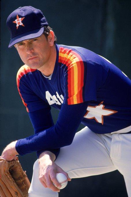 5,714 strikeouts. 8x All-Star. World Series Champ. HOFer.     .   Happy Birthday, Nolan Ryan!
