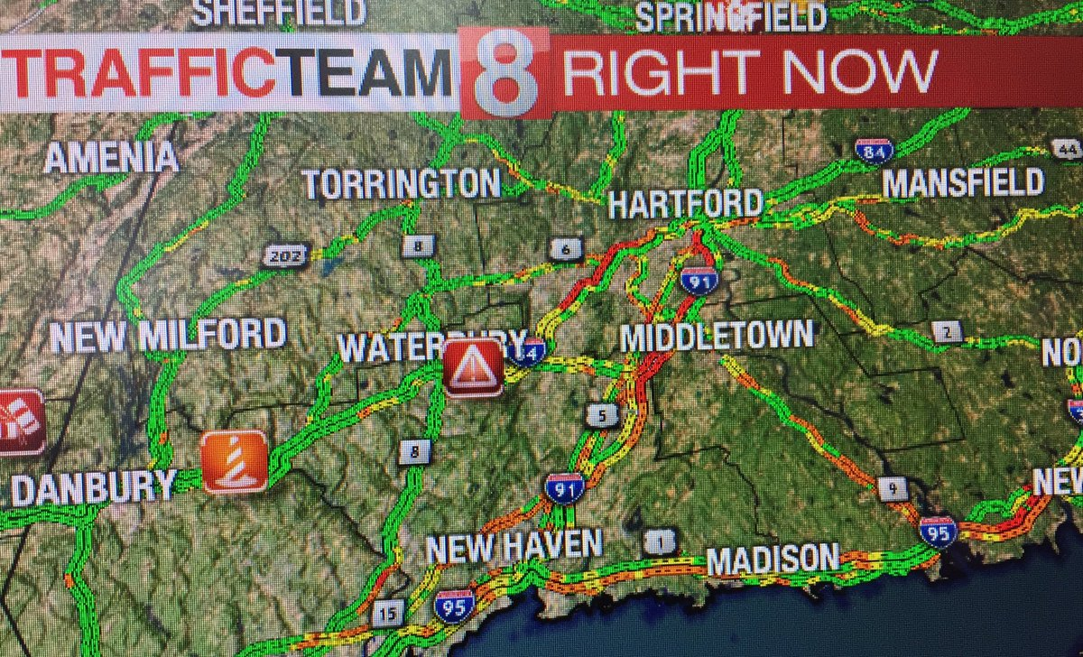 Renee Chmiel On Twitter Lots Of Red On The Traffic Map Right Now
