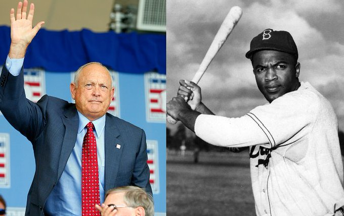 Happy birthday to two of the greatest to ever play the game, Nolan Ryan and Jackie Robinson.