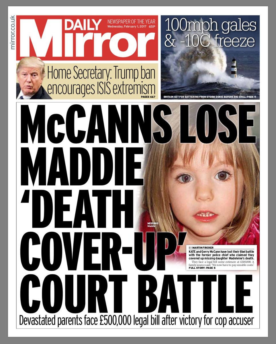 McCANNS LOSE THEIR APPEAL!!  GONCALO WINS  31/01/17  in Supreme Court  - Page 6 C3iHZaFWMAIt_tx