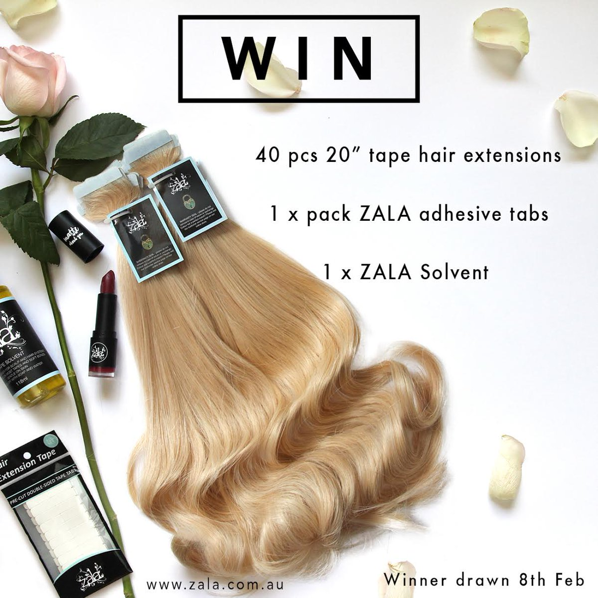 Zala Hair Extensions On Twitter Retweet To Win Our First Ever