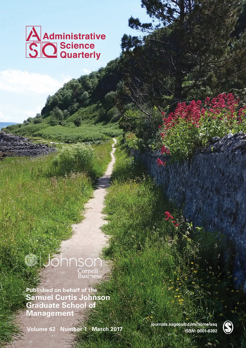 Asq Journal On Twitter March Issue Of Asq Is Officially Out