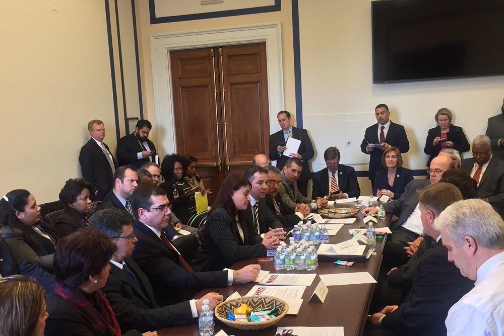 Image: Twitter account of José Ramón Cabañas, Cuban Ambassador to the United States.