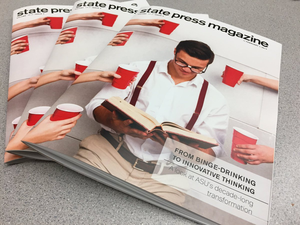 Pick up a copy @statepressmag's first issue of the semester! On all campuses tomorrow. https://t.co/QNvlkP1vT5