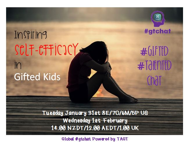 Thumbnail for #gtchat: Inspiring Self-Efficacy in Gifted Kids