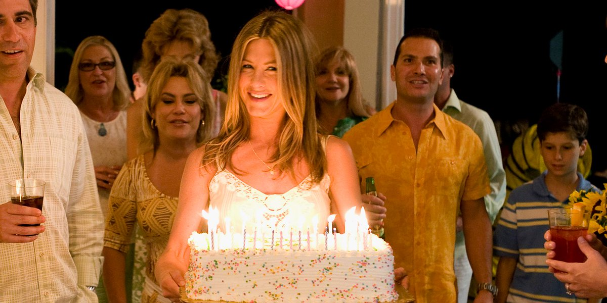 Dont Forget To Blow Out The Candles Jennifer Aniston Happy Birthday Marleyandme