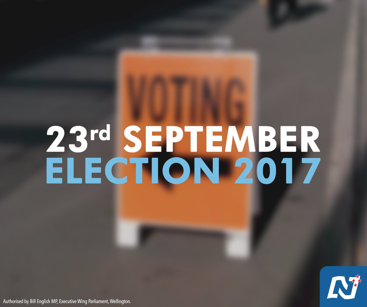 @pmbillenglish has just announced that the election will be on 23rd September this year. https://t.co/vV8UzDt9r6