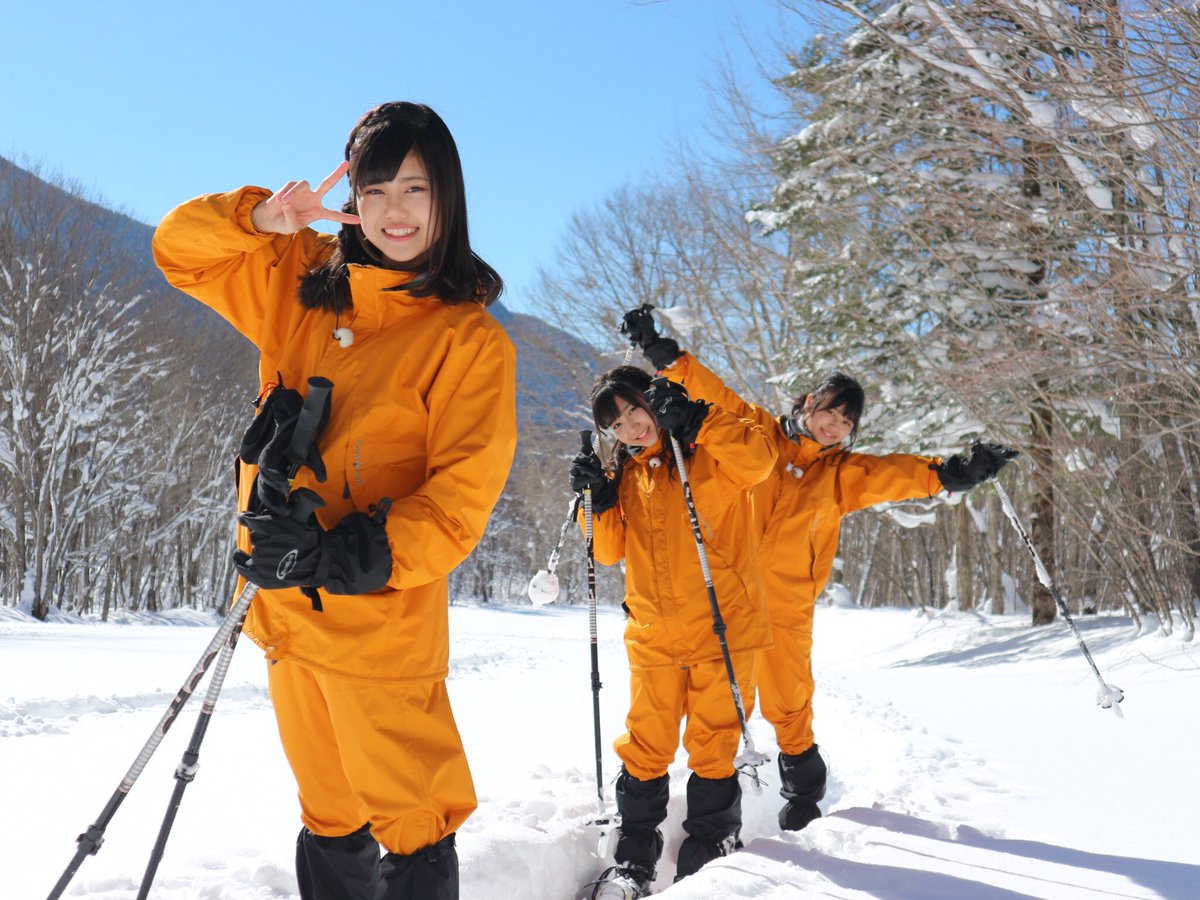 テレビ版 「SKE48の岐阜県だって地元ですっ!」  今回はスノーシューを体験しました☃️ www2…