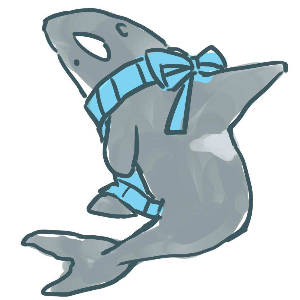 例のセーター、シャチやイルカやサメのために開発されたのではないですか?
