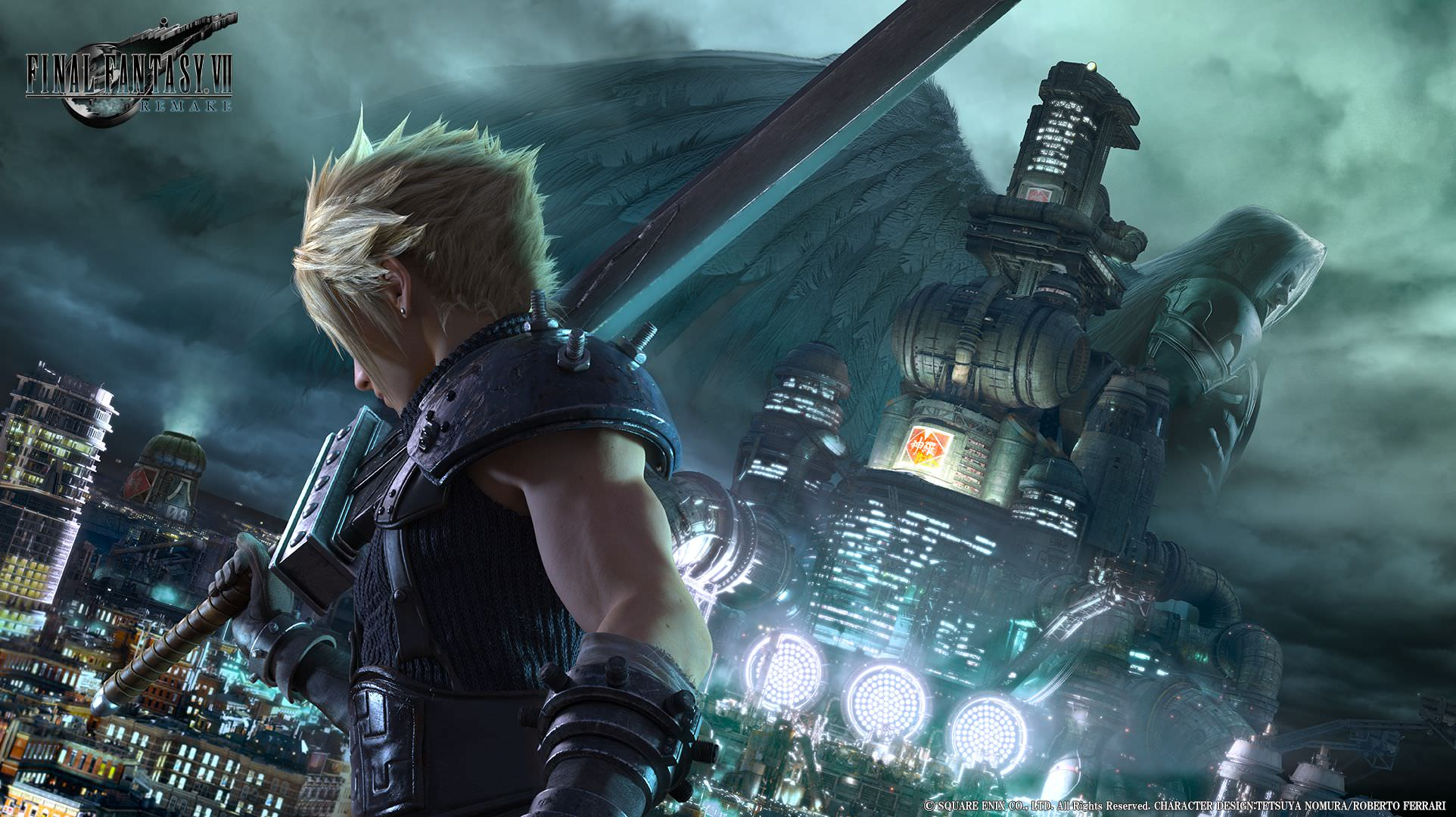 Final Fantasy VII Remake Key Art Unveiled