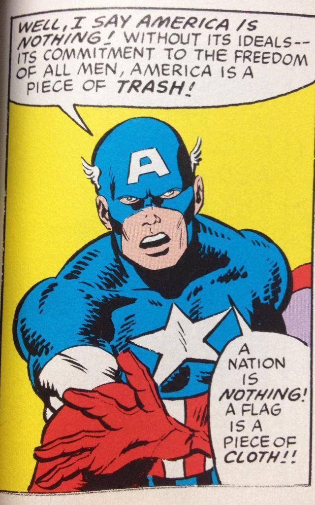 「だが私はあえて言おう、アメリカは無価値だ!理想無くしては…全ての人民に自由を約束しなければ、アメリ…