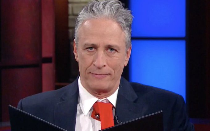 Jon Stewart rips apart President Trump: 'The new official language of the United States is bullshit' https://t.co/XZF8tucAwF